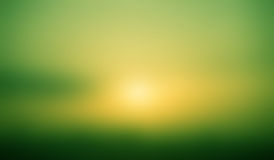 Blur gradient green yellow and dark  background Stock Photography