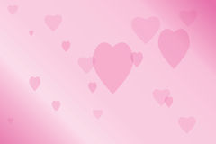 Blur heart Royalty Free Stock Photos