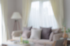 Blur image of modern living room. At home Royalty Free Stock Photo