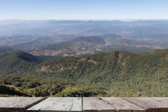 Blur image of mountain view at Kew Mae Pan Nature Trail & x28;Doi Int Stock Photos