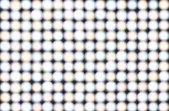 Blur LED lights Royalty Free Stock Image