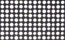 Blur LED lights Stock Images