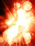 Blur light. Abstract magic background with bright blur light Royalty Free Stock Photography