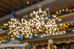 Blur light bokeh abstrac background concept Stock Photography
