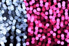 Blur light bokeh Stock Images