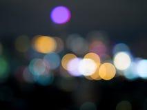 Blur light form building. In metropolis royalty free stock photo