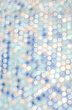 Blur lights. Defocused background white, blue Royalty Free Stock Photo