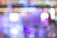 Blur Lights bokeh Background Stock Image