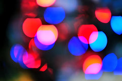 Blur lights  defocused background Royalty Free Stock Image
