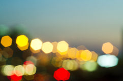 Blur lights Stock Photo