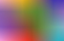 blur of multicolored abstract for background Stock Photo