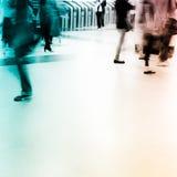 Blur passenger walk Royalty Free Stock Photo