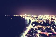Blur pattaya city Royalty Free Stock Photo