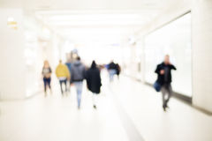 Blur People Background Stock Image