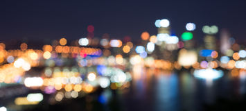 Blur of Pittsburgh. Great for Use as a Background Stock Image