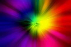 Blur rays blur background. Colorful blur rays multi background Stock Images
