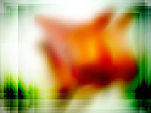 Blur red green frame Royalty Free Stock Photography