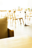 Blur restaurant background Stock Photo