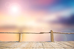 Blur sea beach background Stock Photo