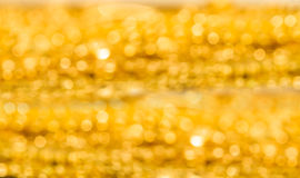 Blur shot of gold Stock Image