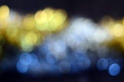 Blur spots bokeh background Royalty Free Stock Photo