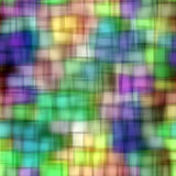 Blur squares pattern Stock Photography