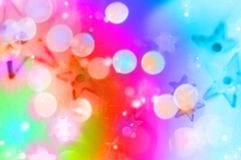 Blur stars. Abstract star shapes. Pink iris blurs Royalty Free Stock Photos