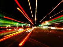 blur street Στοκ Εικόνες