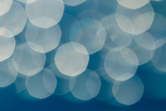 Blur sunlight with   Abstract  blue Stock Image