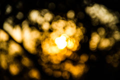 Blur sunset light Royalty Free Stock Photos