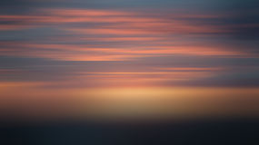 Blur sunset sky Royalty Free Stock Images