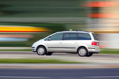 Blur taxi Royalty Free Stock Photos