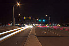 blur traffic Στοκ φωτογραφία με δικαίωμα ελεύθερης χρήσης