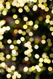 Blur trffic and car lights bokeh Royalty Free Stock Photos