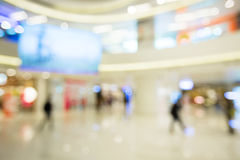 Blur view of Shopping department. Indoor view Stock Photos
