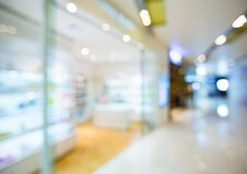 Blur view of Shopping mall Stock Photo