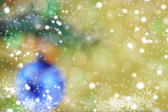 Blur xmas background Royalty Free Stock Image