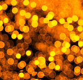 Blur yellow light Stock Images