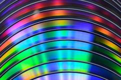 Bluray cd dvd för regnbåge Royaltyfri Foto