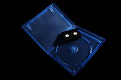 Bluray cover Royalty Free Stock Photo