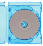 Bluray disc isolated Royalty Free Stock Photography