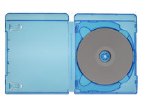 Bluray disc isolated Stock Photo
