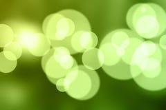 blurdefocuslampor Fotografering för Bildbyråer