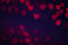 Blure bokeh heart wallpapers and background Stock Photos