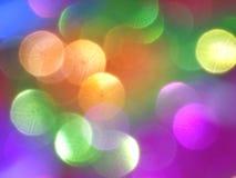 Blure bokeh rainbow texture Stock Photos