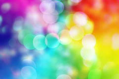 Blure bokeh rainbow texture wallpapers and backgrounds Stock Image