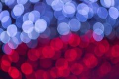 Blure deux modifient la tonalité et tordent la texture et les milieux de bokeh Image stock