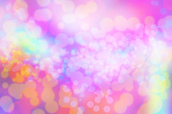 Blure bokeh texture wallpapers rainbow and background. Blue pink white orange red yellow green brown silver turquoise grey rainbow the no focus Stock Image