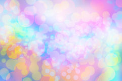 Blure-Regenbogen bokeh Beschaffenheitstapeten und -hintergrund Lizenzfreie Stockfotografie