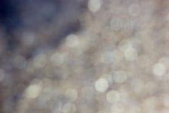 Blured金黄背景-好和美好的bokeh 库存照片